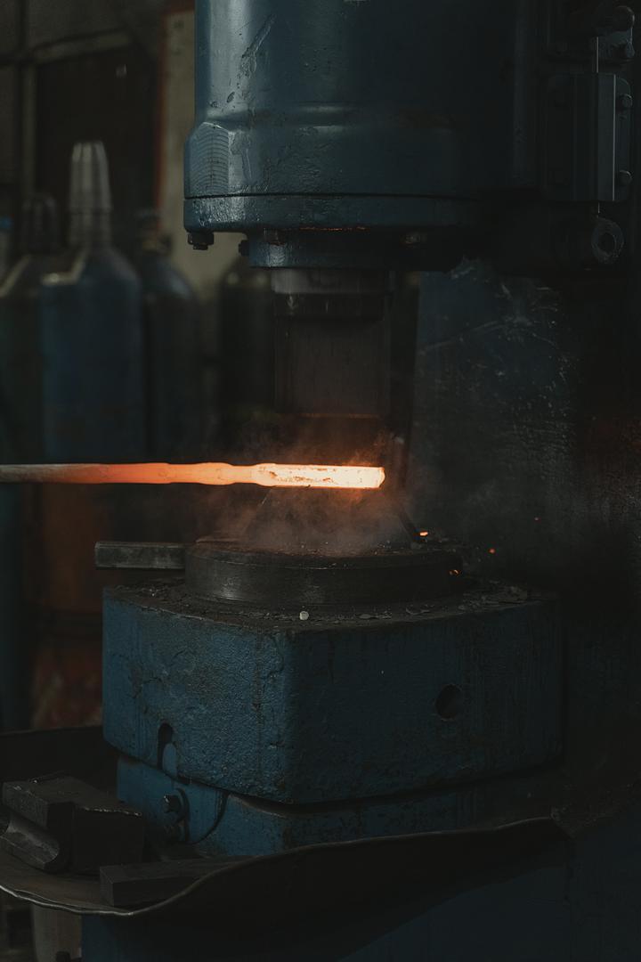 Linea produzione acciaio dimostrativa